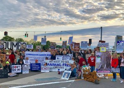 Ringling's_final_protest Humane Long Island